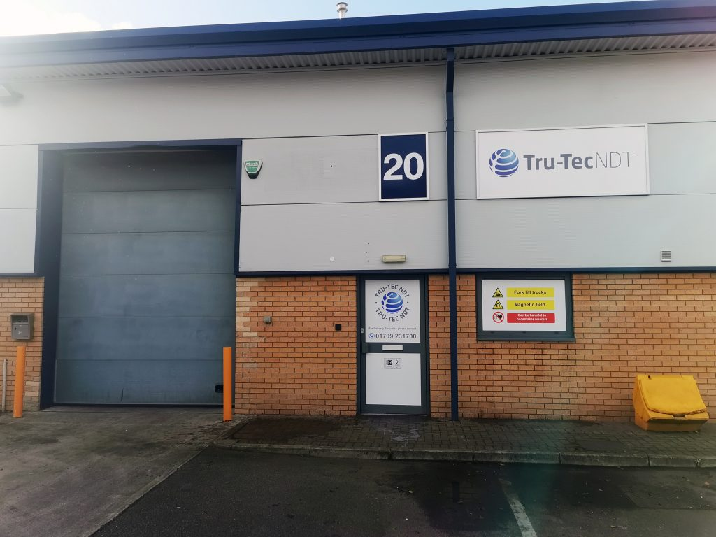 Tru-Tec-NDT Professional Conventional and Advanced Non Destructive Testing Solutions Inspections South Yorkshire Premises